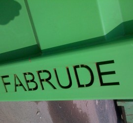 Benne Fabrude Recyclage